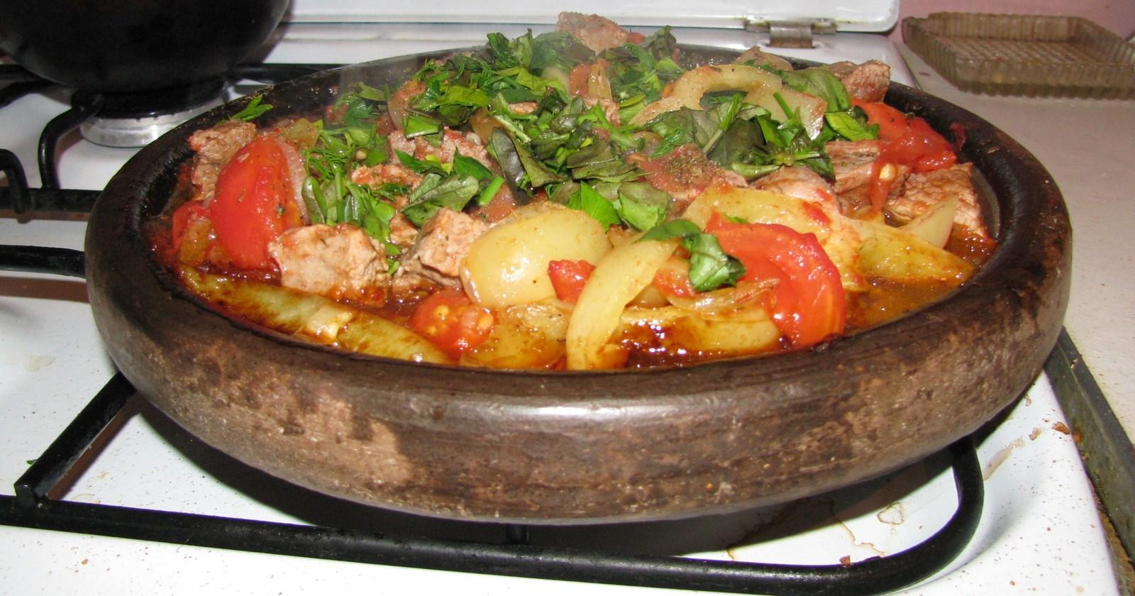 Болгарский сач рецепт