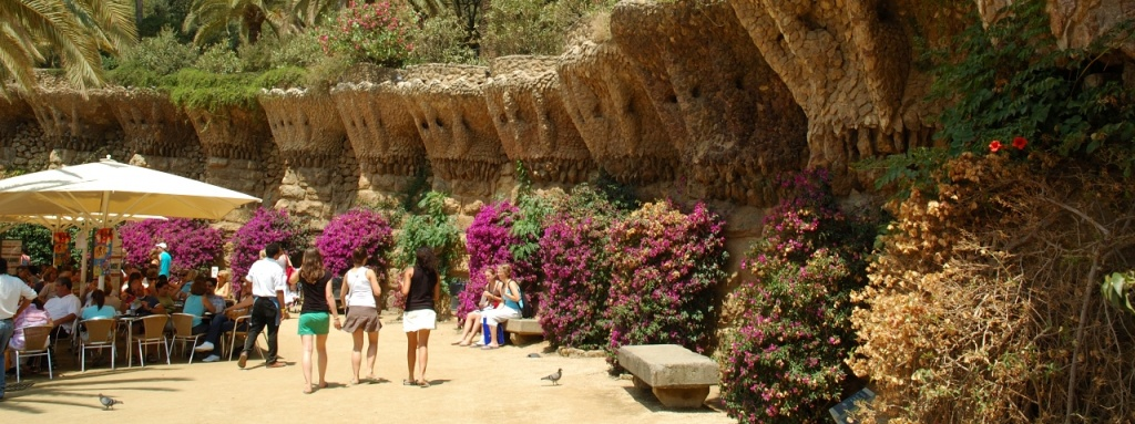Barcelona, ​​in the Park Guell